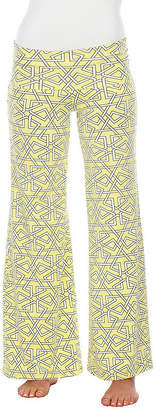 WHITE MARK White Mark Summer Time Geometric Palazzo Pants
