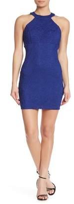 Jump Lace Halter Dress