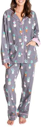 PJ Salvage Flannels I'm A Succa For You Printed Cotton Pyjama Set