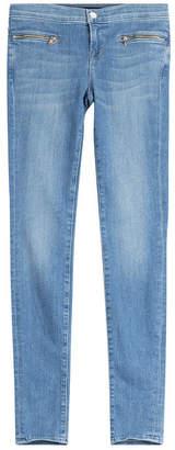 J Brand Emma Skinny Jeans with Zippers