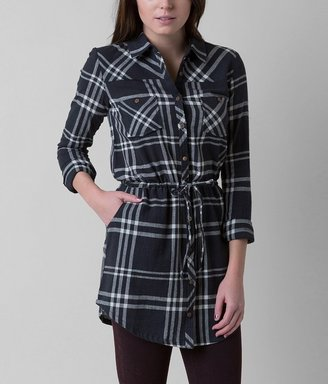 Element Madly Plaid Tunic Shirt $49.95 thestylecure.com