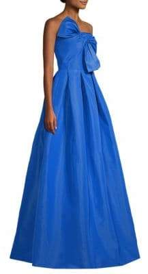 Sachin + Babi Leora Silk Bow Ball Gown
