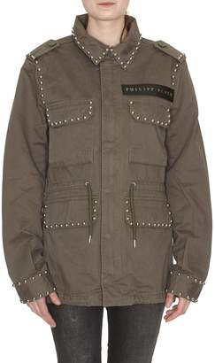 Philipp Plein Similarity Parka