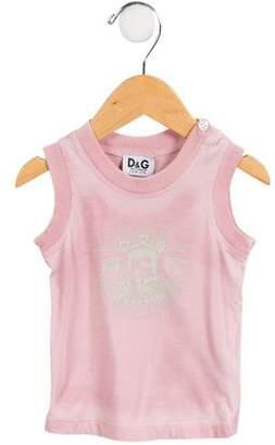 Dolce & Gabbana Girls' Printed Sleeveless Top