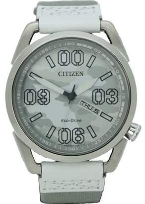 Citizen Eco-Drive Nylon Men's Watch, AW0011-09J