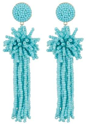 BaubleBar Rishita Beaded Tassel Drop Earrings