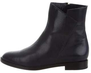 Fratelli Rossetti Round-Toe Leather Ankle Boots