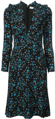 Altuzarra Floral Wrap Dress