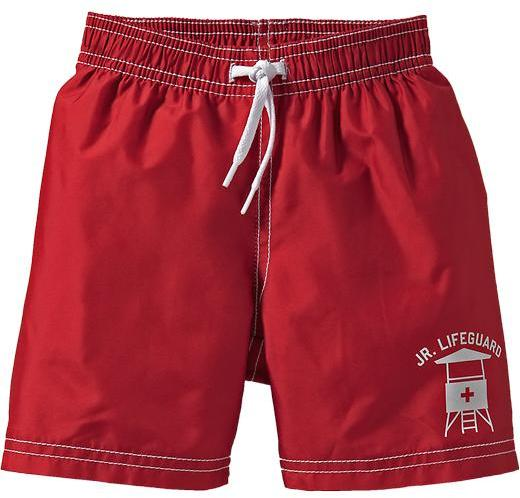 Graphic Swim Trunks for Baby