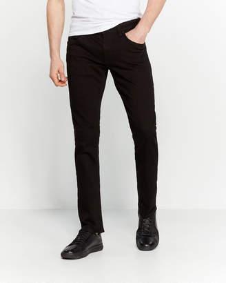 Buffalo David Bitton Black Rinse Ash-X Basic Skinny Stretch Jeans