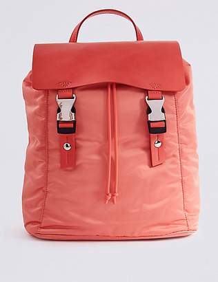 M&S Collection Clip Detail Backpack with StormwearTM