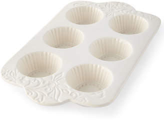 GG Collection G G Collection Etched Floral Muffin Pan