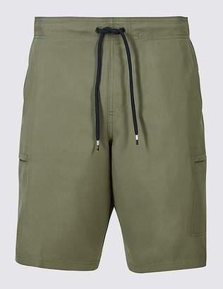 Marks and Spencer Quick Dry Cargo Swim Shorts