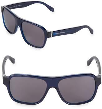 Alexander McQueen Women's 57MM Square Sunglasses