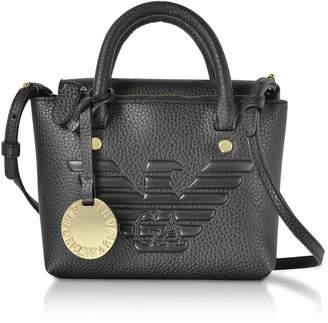 Emporio Armani Small Top-handles Eco-leather Satchel Bag