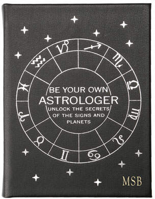 """Graphic Image Be Your Own Astrologer"""" Book, Personalized"""