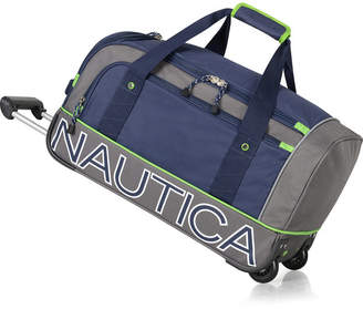 "Nautica Submariner 22"" Wheeled Duffel"