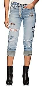 Greg Lauren Women's Patchwork Denim Lounge Pants - Indigo