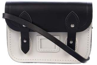 305ace4057 Pre-Owned at TheRealReal · Cambridge Silversmiths Satchels Mini Bicolor  Leather Crossbody Bag w  Tags