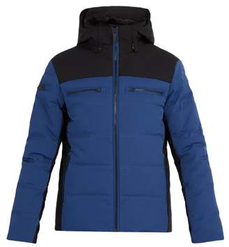 Whistler Fusalp Faux Fur Lined Down Filled Jacket - Mens - Blue