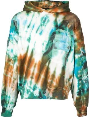 Amiri loose-fit tie-dye hoodie