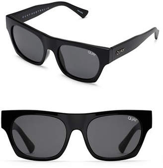 Quay Classic 147MM Rectangle Sunglasses