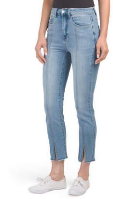 Sky High Waist Vintage Slim Jeans