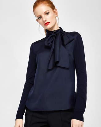 BABRI Cashmere and silk-blend sweater