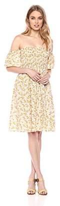 Serene Bohemian Women's Smock Off Shoulder Dress (XXL