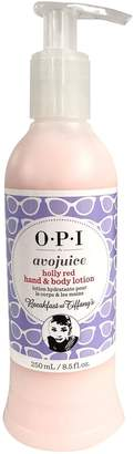 OPI Avojuice Hand & Body Lotion - Holly Red - 8.5oz / 250ml