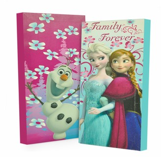 Disney Disney's Frozen 2-pk. Anna, Elsa & Olaf Glow-in-the-Dark Wall Art
