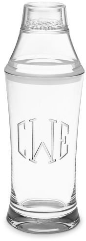 Monogrammed DuraClear® Cocktail Shaker