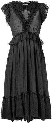Ulla Johnson frilled loose dress