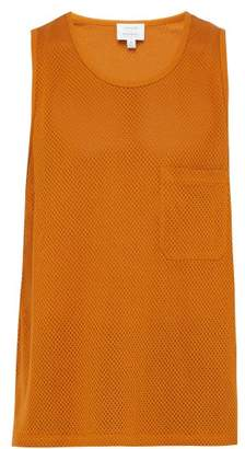 Lemaire Sunspel X Oversized Cotton Tank Top - Mens - Orange