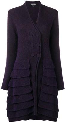 Giorgio Armani Pre-Owned 1990's layered cardi-coat