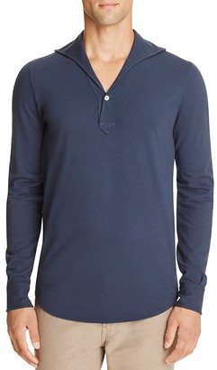 Eidos Lupo Slim Fit Polo $195 thestylecure.com
