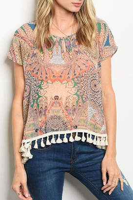 Collective Concepts Boho Gypsy Blouse