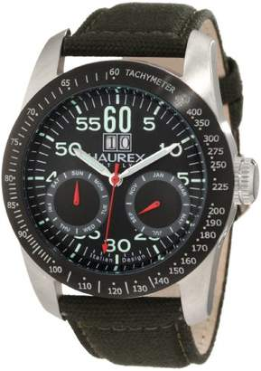 Haurex Italy Men's AD352UN1 Arrow Auto Automatic Black Dial Watch