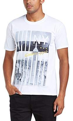 Mens Lower East Side Regular Fit Round Collar Short Sleeve T-Shirt Minted Travel Free Shipping Factory Outlet For Sale Very Cheap Clearance Store For Sale Free Shipping Cost Cheap Sale Best Place rA4sb6B