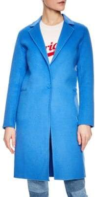 Sandro Dilan Wool Coat