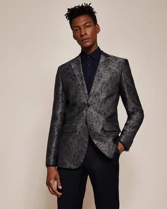 Ted Baker HOWZIT Global silk paisley jacquard jacket