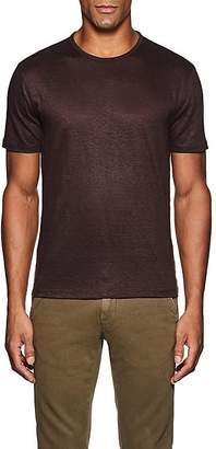 John Varvatos Men's Linen Jersey Crewneck T-Shirt