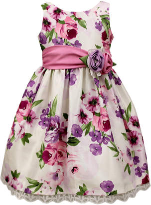 Jayne Copeland Floral Print Sleeveless Dress
