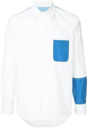 Marni colour block shirt