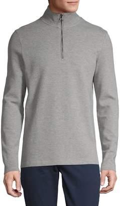 Michael Kors Pullover Zip Sweater