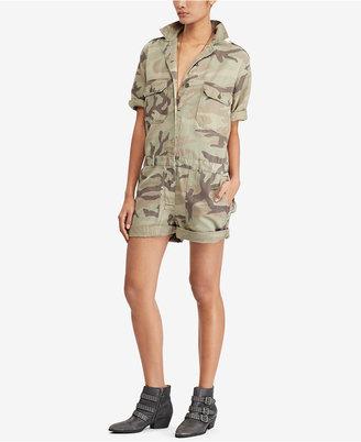 Denim & Supply Ralph Lauren Twill Romper $165 thestylecure.com