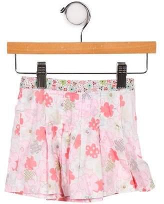 Cacharel Girls' Floral Print Skirt
