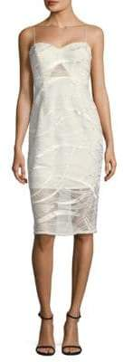 Aidan Mattox Spaghetti Strap Dress
