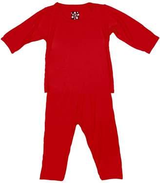 Kickee Pants Crimson Pj-Set Infant