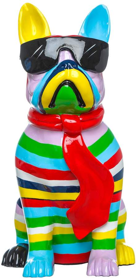 Buy Interior Illusions Stripe Dog with Glasses Figure!